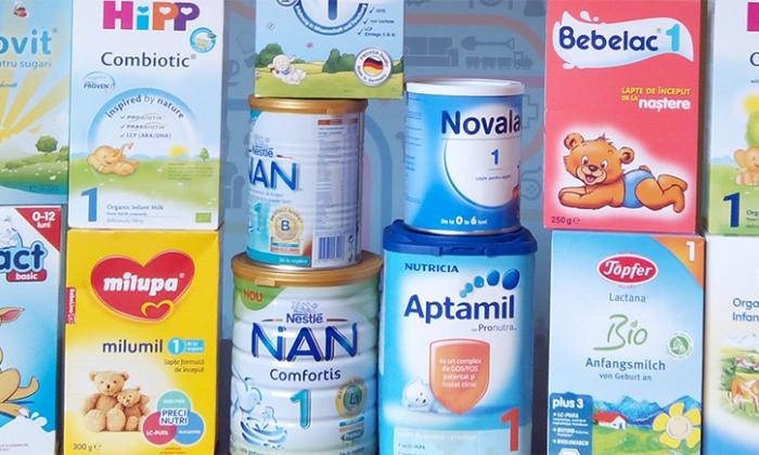Studiu de piață despre laptele praf de început pentru