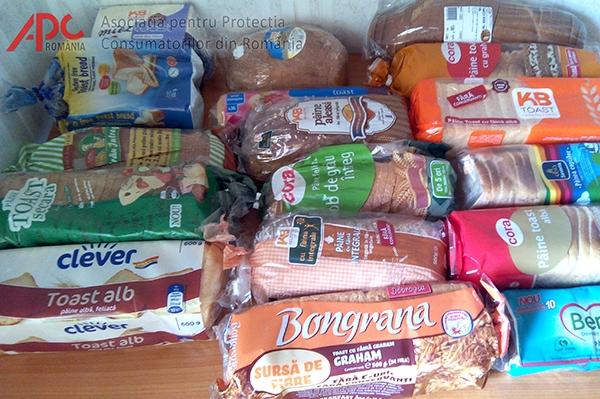 Studiul privind calitatea pâinii feliate