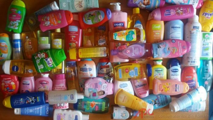 Studiu privind calitatea șampoanelor destinate
