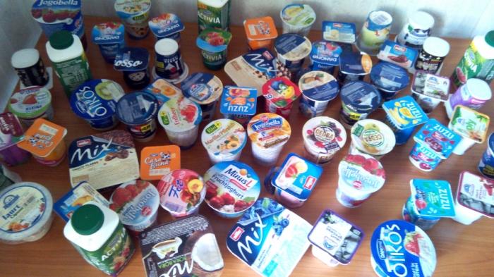 Studiu privind calitatea iaurtului cu adaosuri