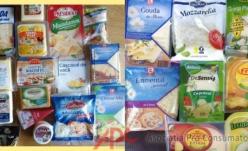Brânzeturi  cu amidon, clorură de calciu, nitrat de sodiu și natamicină