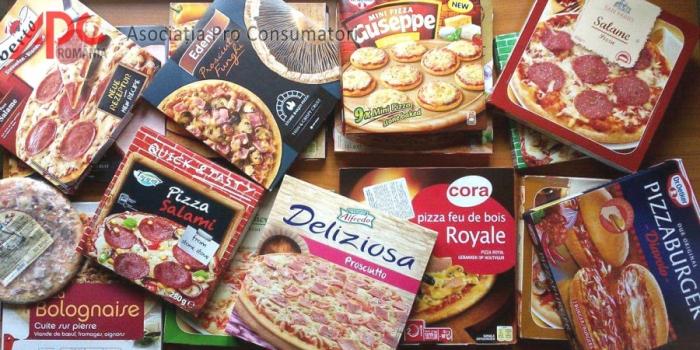 Pizza cu piele de porc, aromă de fum și alte bazaconii