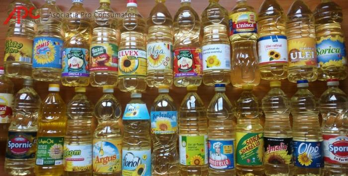Studiu despre uleiurile vegetale de pe piața românească