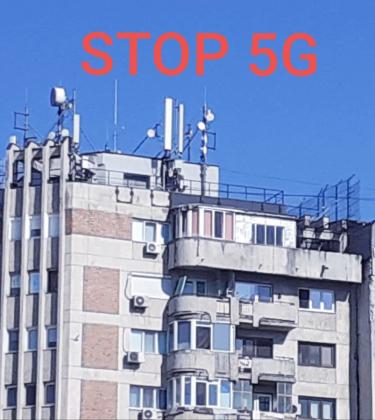 STOP 5G – Marș pentru viața și proprietatea noastră!