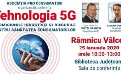 25 ianuarie - Ziua mondială de protest împotriva implementării tehnologiei de comunicații wireless 5G