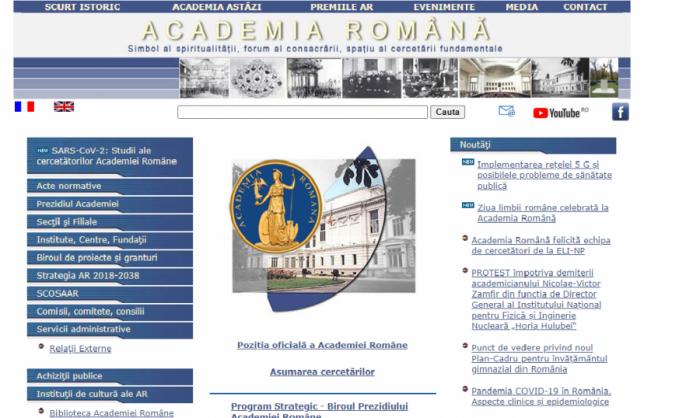 Scrisoare deschisă adresată președintelui Academiei Române -academician Ioan-Aurel Pop