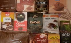 Pudră de cacao cu sodă caustică!
